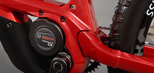 E-bikes con motores Bosch