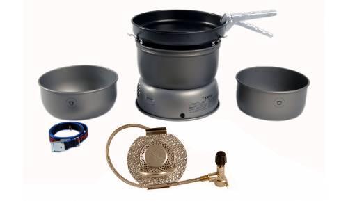 Trangia Set de hornillo 27-8 de Ligero Aluminio anodizado Duro 2019 Hornillos de Camping