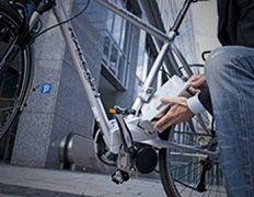 Batería de una bicicleta eléctrica
