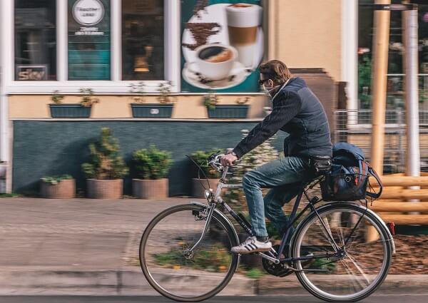 bicicleta mascarilla