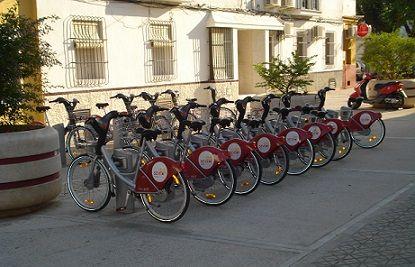 alquiler de bicicletas públicas sevilla