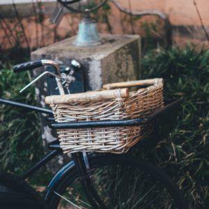 bici con cesta